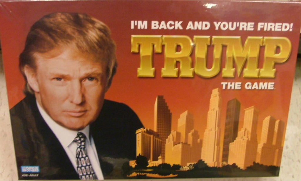Trump - The Game. Foto: ypt Keeper, CC0 1.0
