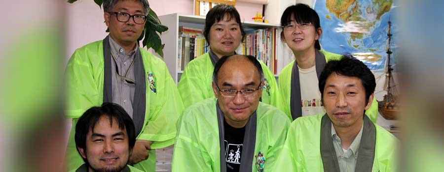 Das Team von JaponBrand. Foto: Sebastian Wenzel
